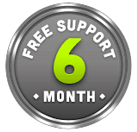 Free Support - 6 Month